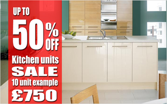 Wickes Half Price Kitchen Sale