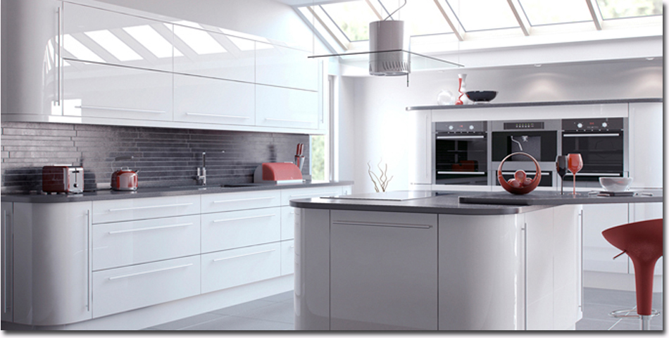Vivo White Fitted Kitchen Vivo White Fitted Kitchen From Tkc